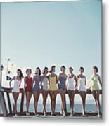 Lake Tahoe Ladies Metal Print