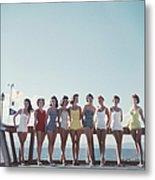 Lake Tahoe Ladies Metal Print
