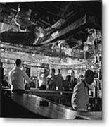 Latin Quarter Bar Metal Print