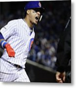 League Championship Series - Los Metal Print
