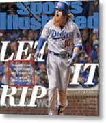 Let It Rip 2017 World Series Preview Issue Sports Illustrated Cover Metal Print