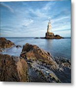 Lighthouse In Ahtopol, Bulgaria Metal Print