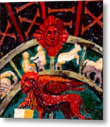 Lion Of St. Mark Metal Print
