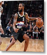 Los Angeles Lakers V Denver Nuggets Metal Print