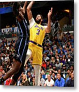 Los Angeles Lakers V Orlando Magic Metal Print