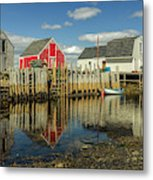Low Tide At Blue Rocks  03 Metal Print
