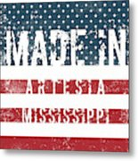 Made In Artesia, Mississippi Metal Print