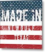 Made In Newgulf, Texas Metal Print