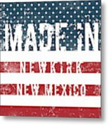 Made In Newkirk, New Mexico Metal Print