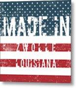 Made In Zwolle, Louisiana Metal Print