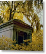 Mausoleum In Georgia Metal Print