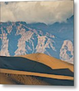 Mesquite Flat Sand Dunes At Sunset Metal Print