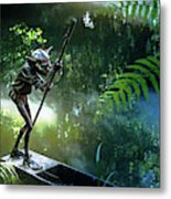 Messing About On The River Metal Print