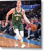 Milwaukee Bucks V Oklahoma City Thunder Metal Print