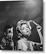 Monica Vitti In L' Avventura -1960-. 1 Metal Print