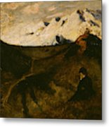 Mountains Near Innsbruck  Metal Print