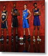 Nba All-star Portraits 2017 Metal Print