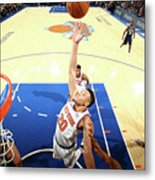 New Orleans Pelicans V New York Knicks Metal Print