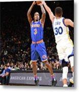 New York Knicks V Golden State Warriors Metal Print
