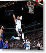 New York Knicks V Minnesota Timberwolves Metal Print