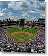 New York Mets V Atlanta Braves Metal Print