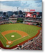 New York Mets V Washington Nationals Metal Print