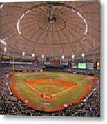New York Yankees V Tampa Bay Rays Metal Print