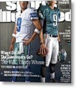 Nfc Gunslingers 2014 Nfl Football Preview Issue Sports Illustrated Cover Metal Print