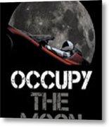 Occupy The Moon Metal Print