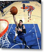Orlando Magic V New York Knicks Metal Print