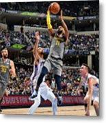 Philadelphia 76ers V Memphis Grizzlies Metal Print