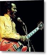 Photo Of Chuck Berry Metal Print