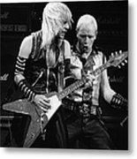 Photo Of Judas Priest And Rob Halford Metal Print