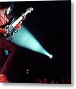 Photo Of Phil Lynott And Thin Lizzy Metal Print