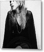 Photo Of Stevie Nicks And Fleetwood Mac Metal Print
