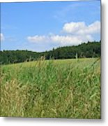 Photography Landscape With Fields In Germany Metal Print