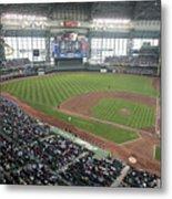 Pittsburg Pirates V Milwaukee Brewers Metal Print