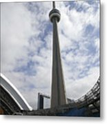 Red Sox V Bluejays Metal Print
