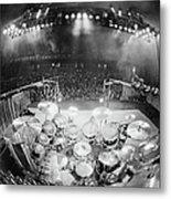 Rush In Concert Metal Print