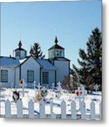 Russian Orthodox Church Ninilchik Alaska Metal Print