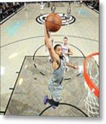 Sacramento Kings V Brooklyn Nets Metal Print