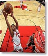 San Antonio Spurs V Chicago Bulls Metal Print