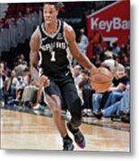 San Antonio Spurs V Cleveland Cavaliers Metal Print