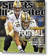 San Diego Chargers V New Orleans Saints Sports Illustrated Cover Metal Print