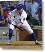 Seattle Mariners V Chicago Cubs 1 Metal Print