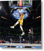 Sprite Slam Dunk Contest Metal Print