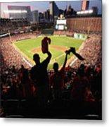 St. Louis Cardinals V Baltimore Orioles Metal Print