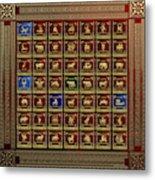 Standards Of Roman Imperial Legions - Legionum Romani Imperii Insignia Metal Print