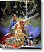 Star Wars The Empire Strikes Back Metal Print