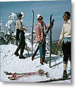 Sugarbush Skiing Metal Print